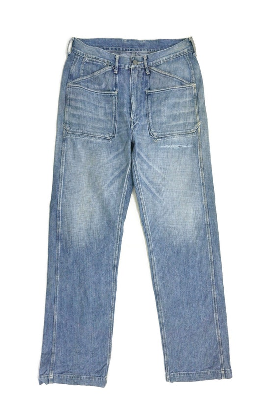 """45Rpm Jeans Size 31"""" 45Rpm Ripped Jeans Japanese … - image 2"""