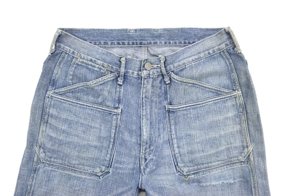 """45Rpm Jeans Size 31"""" 45Rpm Ripped Jeans Japanese … - image 4"""