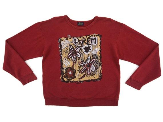 45RPM Sweatshirt Mens Size S/M 45 Rpm Pullover 45r