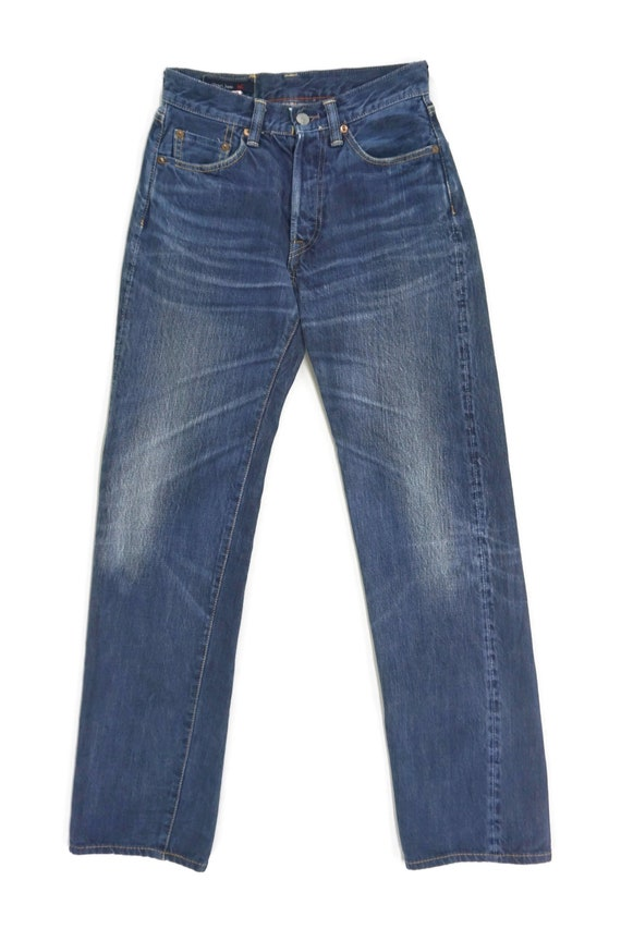 45rpm Jeans Size 27 W26xL30.5 R by 45 Rpm Selvedge