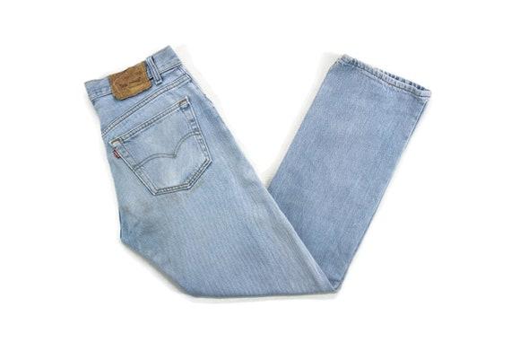 Levis 501 Jeans Size W29xL28 90s Levis 501 Distres