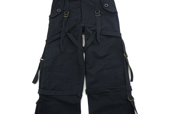 TECHNO Pants Size L W31xL32 Techno Cargo Pants Jap