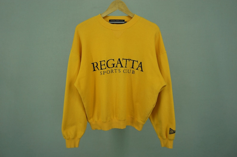 Regatta Sport Club Sweater Men/'s Size M Vintage Regatta Sport Club Crewneck Pullover
