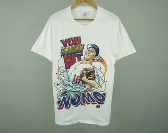 Nomo Shirt Vintage Nomo T Shirt Shirt Xplosion Nomo Tshirt Nomo 16 T Shirt MLB T Shirt MLB Tshirt Men's Size S