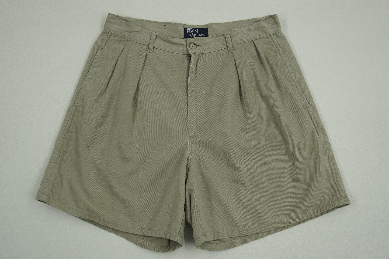 Ralph Lauren, Polo Vintage pantalon taille Chino Ralph Lauren Short  pantalon taille pantalon homme 30 eae7b9a7c10f