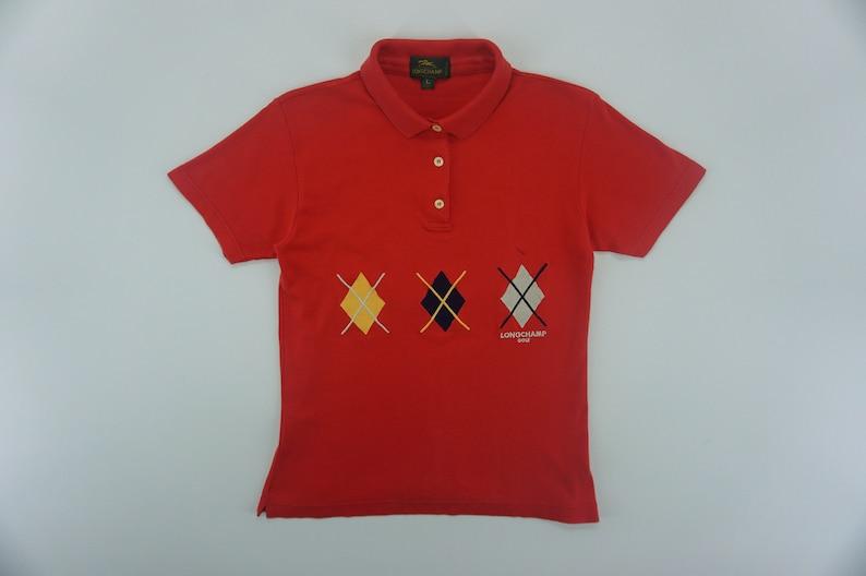 59e778fe7 Longchamp Shirt Vintage Longchamp Polo Shirt Women s Size