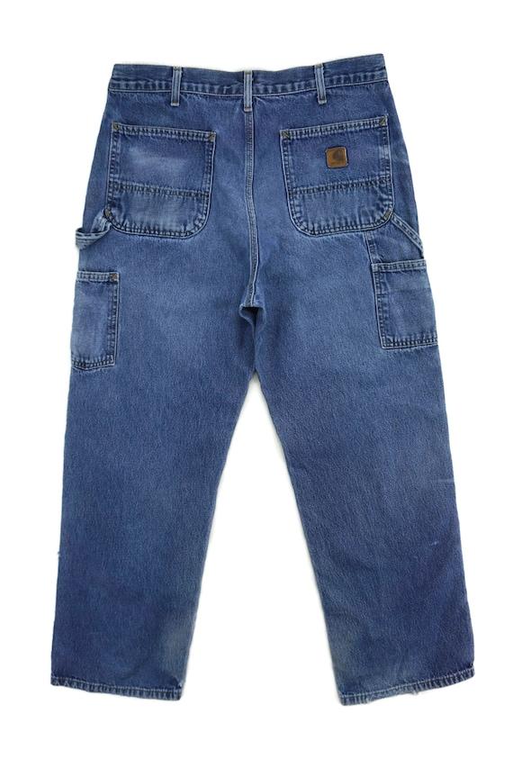 Carhartt Jeans Size 34 W34xL29.5 Carhartt Carpent… - image 3
