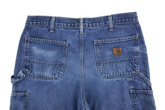 Carhartt Jeans Size 34 W34xL29.5 Carhartt Carpent… - image 5