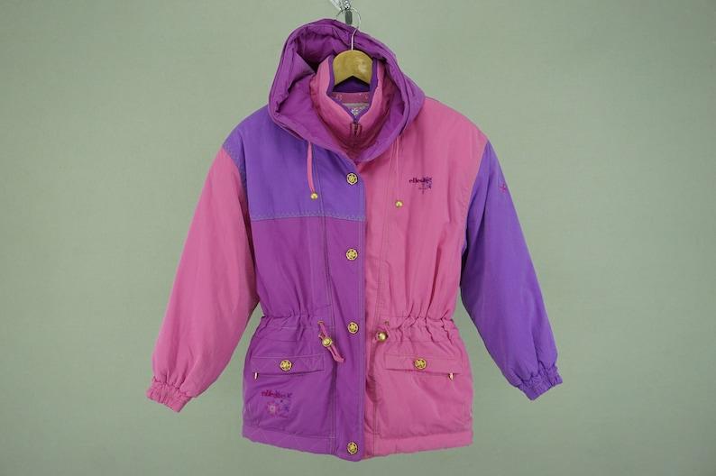 9666e085 Ellesse Jacket Ladies JASPO M Vintage Ellesse Activewear Ellesse Skies  Ellesse Hoodie