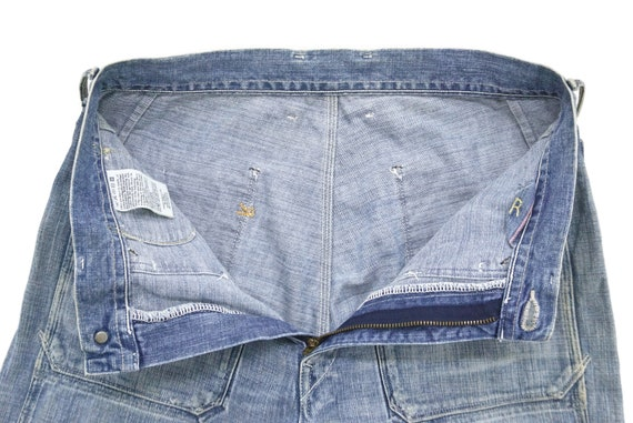 """45Rpm Jeans Size 31"""" 45Rpm Ripped Jeans Japanese … - image 6"""