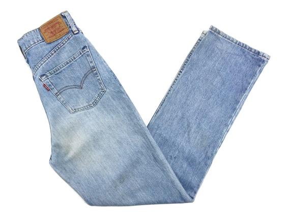 Levis 509 Jeans Size 13 W28xL33 90s Levis Faded Wa