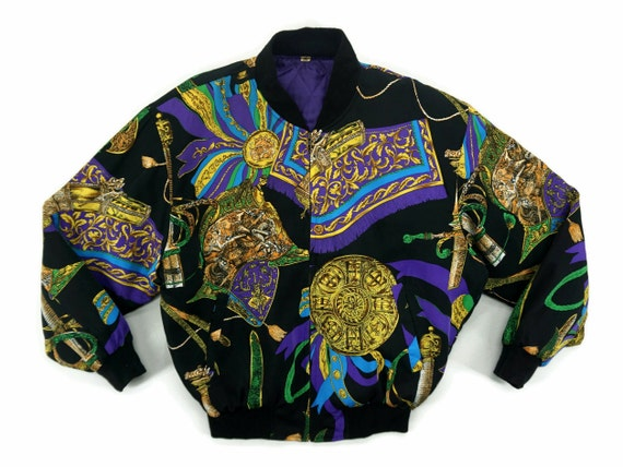 Baroque Jacket Mens Size S Oversized 80s 90s Baroq