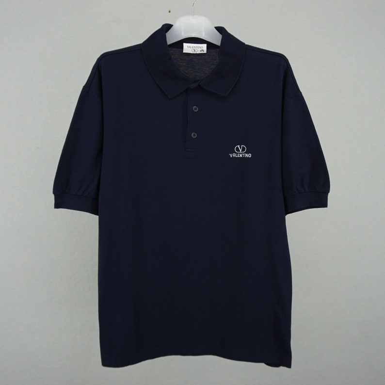 141aa38b Valentino Shirt Vintage Valentino Polo Shirt Men's Size M | Etsy
