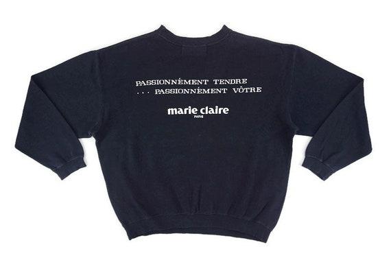 Marie Claire Sweater Vintage Marie Claire Paris Cr