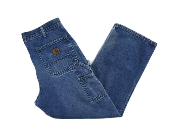 Carhartt Jeans Size 34 W34xL29.5 Carhartt Carpente