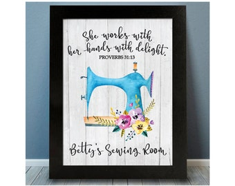 Sewing Room Decor Etsy