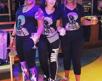 12723e5475787b Baltimore Ravens- Afro Lady