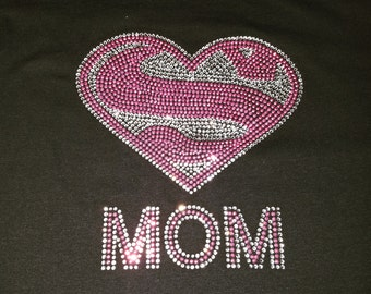Closeout-Super MOM- Pink Studs