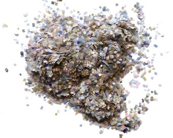 Dusty Blue & Blush Confetti Mix (Biodegradable)