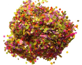 Garden Jewel Confetti Biodegradable Bulk Wholesale Multicoloured Colourful Wedding Party Decorations Decor Art Craft Embellishments