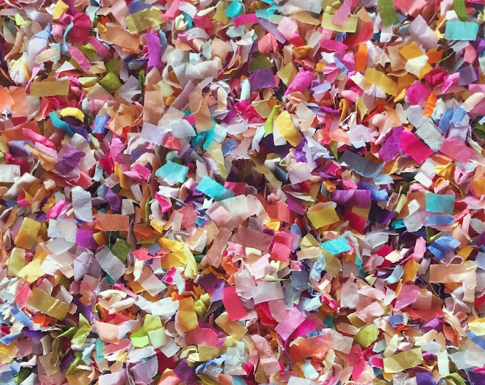 Flower Garden Confetti Mix Wedding Party Baby Shower Craft Embellishments Throwing Decoration Biodegradable InsideMyNest (25 Guests)