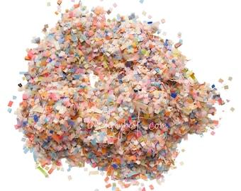 Peach & Cornflower Blue Confetti Mix (Biodegradable)