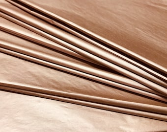 Metallic Copper Tissue Paper Sheets Gift Wrapping Double-Sided 30 x 20 inches Acid-Free PH Neutral Colourfast (Pack of 10 Sheets)