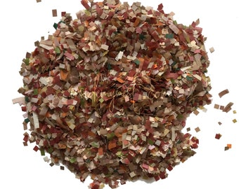 Rustic fall biodegradable tissue paper confetti mix