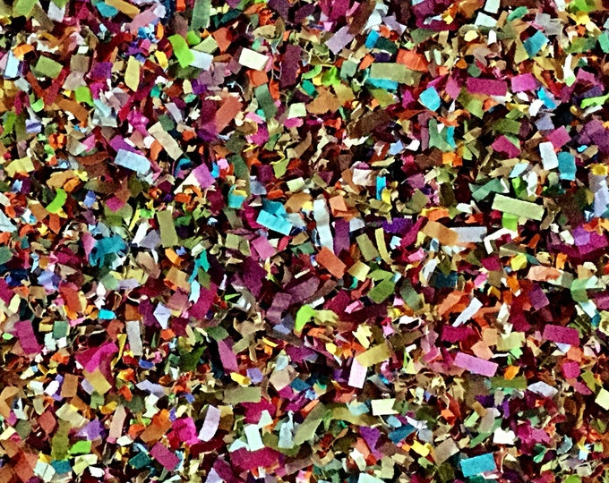Enchanted Forest Confetti Biodegradable Burgundy Forest Green Burnt Orange Floral Wedding Christmas Party InsideMyNest (25 Guests)