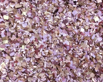 Mauve Dusty Purple Confetti Biodegradable Autumn Winter Wedding Party Bridal Shower InsideMyNest (25 Guests)