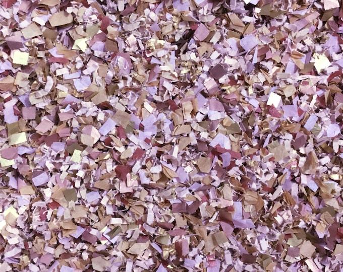 Mauve Dusty Purple Confetti Biodegradable Autumn Winter Wedding Party Bridal Shower InsideMyNest (25 Guests)