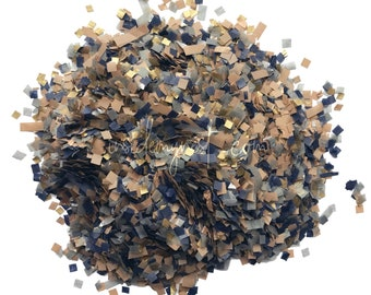 Charcoal Taupe Navy Gold Biodegradable Confetti Wedding Party Decoration Eco Bulk Wholesale Throwing