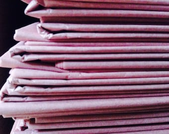 Vintage Rose Tissue Paper Sheets Dusty Pink Blush Gift Wrapping 30 x 20 inches (Pack of 10 Sheets)