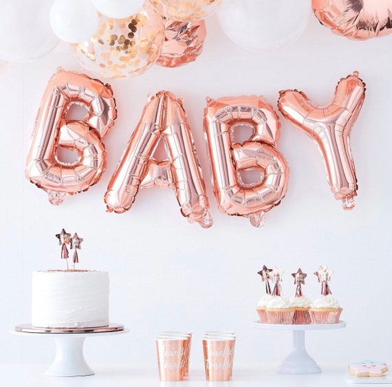 Banners First Birthday Baby Shower Garland Little Hedgehog Woodland decor Little BUT IMPORTANT 16 Letter balloons Banner Rose Gold Silver
