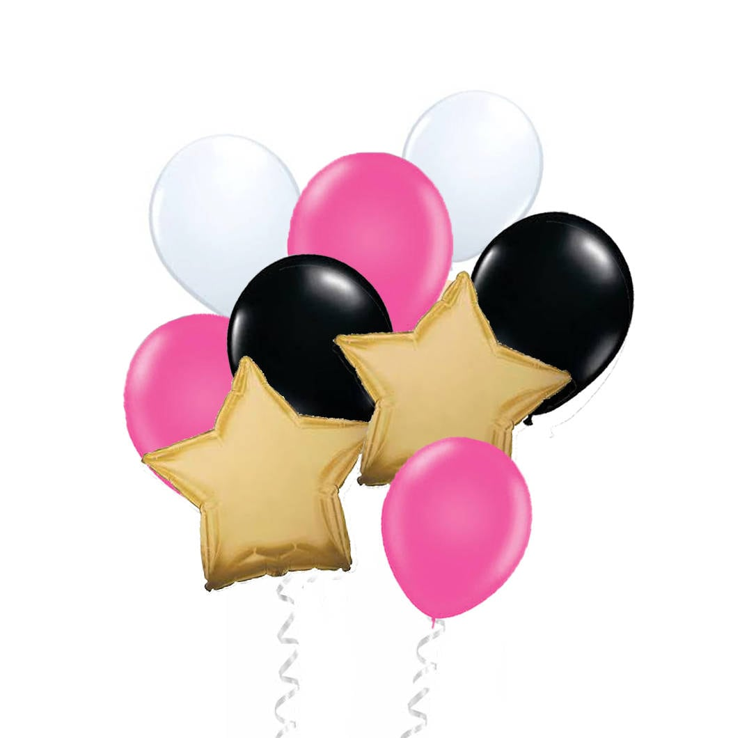 zoom Kate Spade Inspired Balloon Set Gold