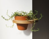 Pot Hanging Corner Shelf - 6 inch