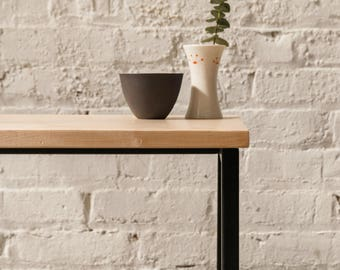 The Watson End Table -  Walnut, Ash, Maple Solid Wood.. Side Table