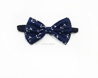 d5e7871854cf Anchor bowtie, navy blue bow tie, anchor bow, anchor bow tie, nautical  wedding, nautical bowtie, nautical fashion, anchor clothing, weddings