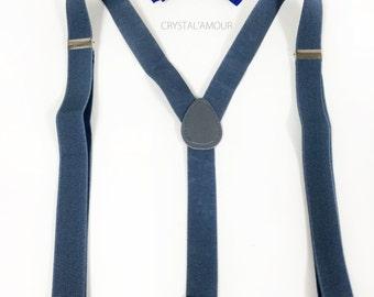 British Flag bowtie, men's suspenders, gray suspenders and bowtie set, UK Flag bowtie, Union Jack, England, flag bowtie, union flag tie
