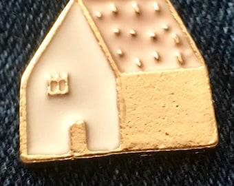 House Home enamel pin badge
