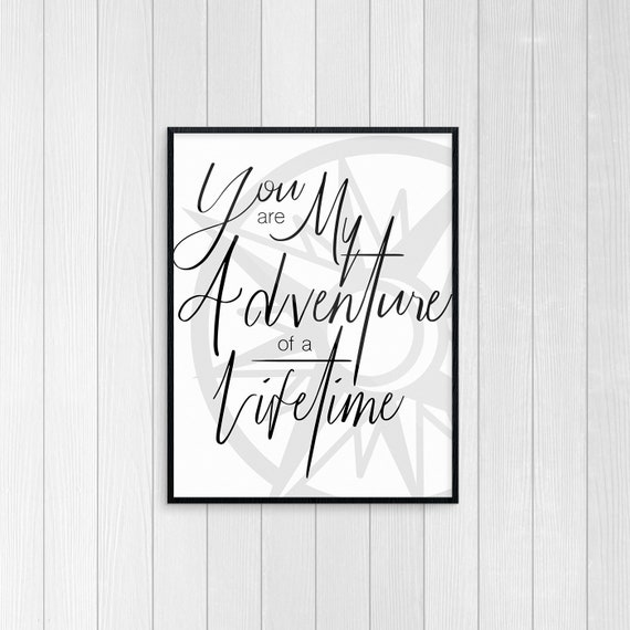 adventure of a lifetime love quotes family nursery