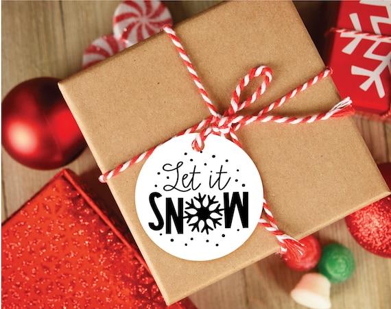 Christmas SVG, Let It Snow SVG, Christmas Clip Art Svg, SVG for Cricut, svg cut file