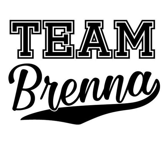 Custom Order -Team Bride, Brenna, Taylor Sports Design - SVG
