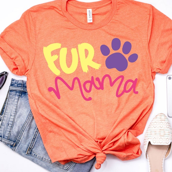 fur mama svg, fur mama dxf, fur mama pdf, fur mama eps, designed for pet lovers