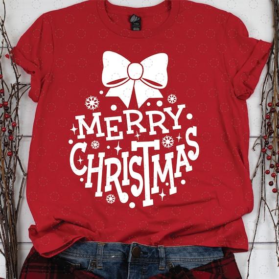 Christmas Ornament SVG, Merry Christmas Ornament, Cute Christmas Clip Art, SVG for Cricut