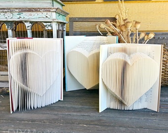 Folded Heart Pattern: 1 Pattern, 3 Ways - by DIYMarta