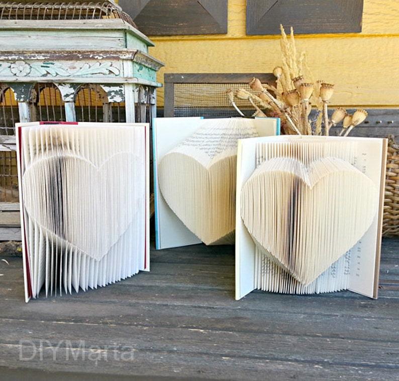 Folded Heart Pattern: 1 Pattern 3 Ways  by DIYMarta image 0