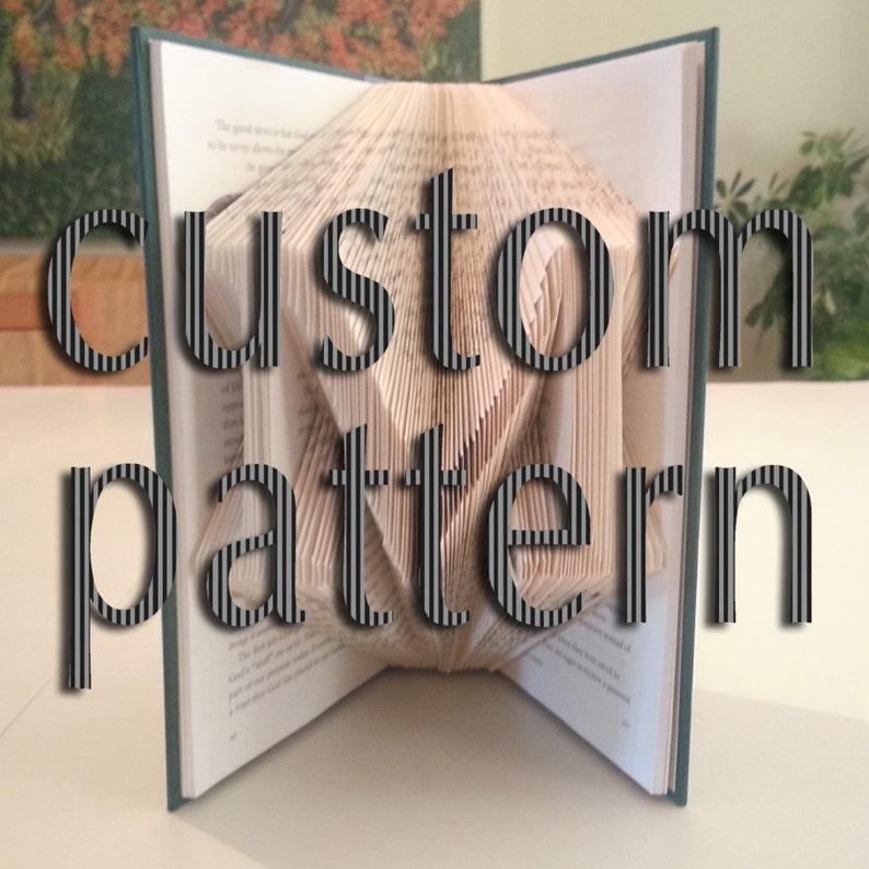 Custom Book Folding Pattern by DIYMarta image 0