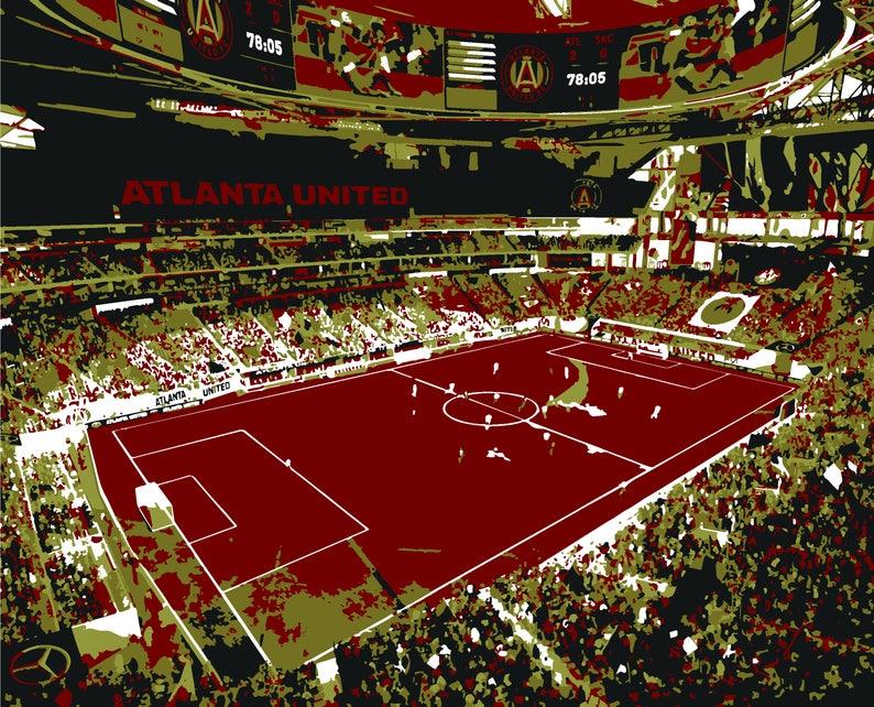 3207be656 Atlanta United Soccer Mercedes-Benz Stadium Soccer Club