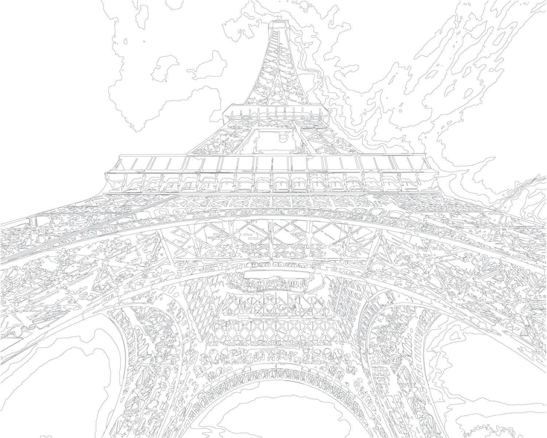 Kleurplaten Voor Volwassenen Parijs.Volwassen Kleurplaat Kleur Therapie Digitale Download Etsy